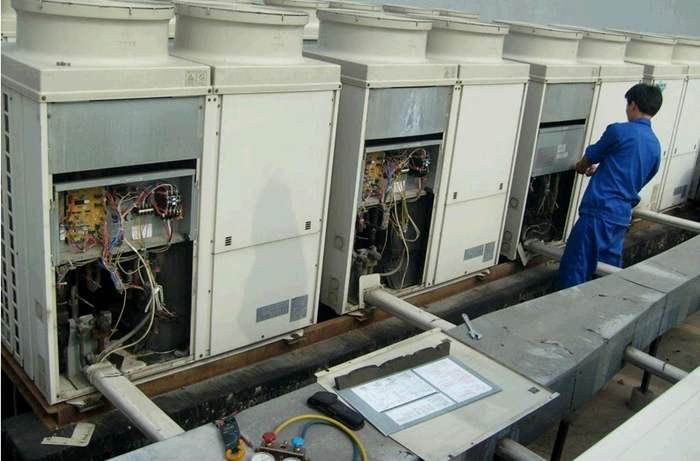 上海本地中央空调安装加液服务
